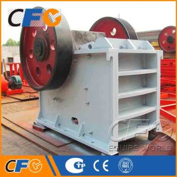 AC Motor Coal Mining Jaw Crusher Manufacturers in India