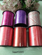 manufacture selling cheap plastic curling ribbon