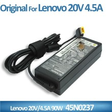 computer accessories square 3 prong 20v 4.5a laptop ac adapter for 90w lenovo notebook
