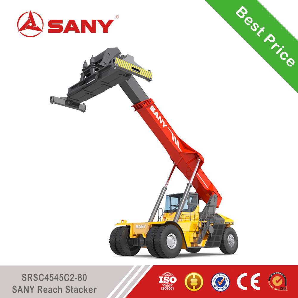 SANY SRSC4545C2-80 45 Tons Reach Stacker for Containers EURO 3 Stage New Reach Stacker Price