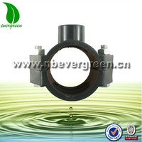 Plastic Compression Pipe Fittings Clamp Saddle