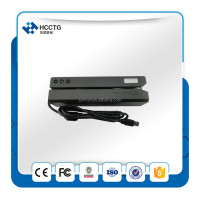 China Hi-Co &Lo-Co magnetic encoder MSR card reader writer with msr606 software for access control--MSR606