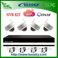 TOP Sale 4 CH NVR Kit,wifi camera security light,nvr system,rfid