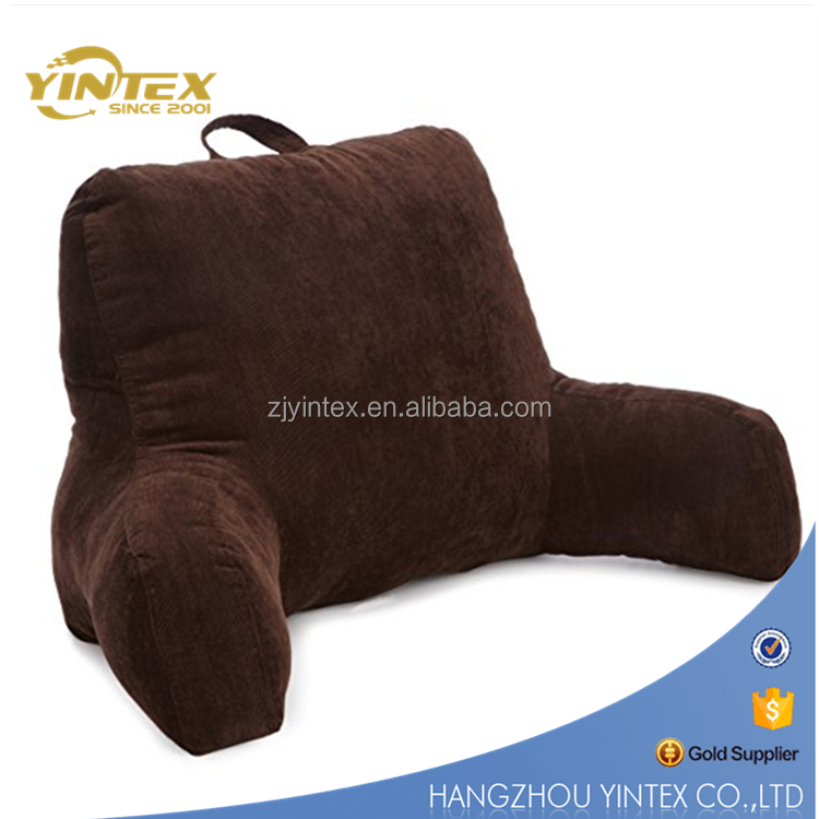 Back Head Support Armrest Reading Pillow for Bed