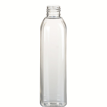 200ml Clear Plastic Pet French Square Bottle available with Screw Cap Lotion Pump Sprayer