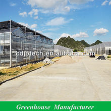 Agricultural Greenhouses Equipment with Shading System