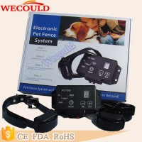 Rechargeable In-Ground Electric Dog Pet Fence System+Shock Collar 200M