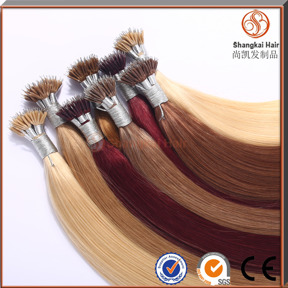 highest quality with cuticle indian remy nano ring hair extension