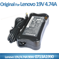 Wholesale laptop adapter AC Charger power For Lenovo Y300 N500 0713A1990 PA-1900-52LC 19V 4.74A 90W multi charger for laptop