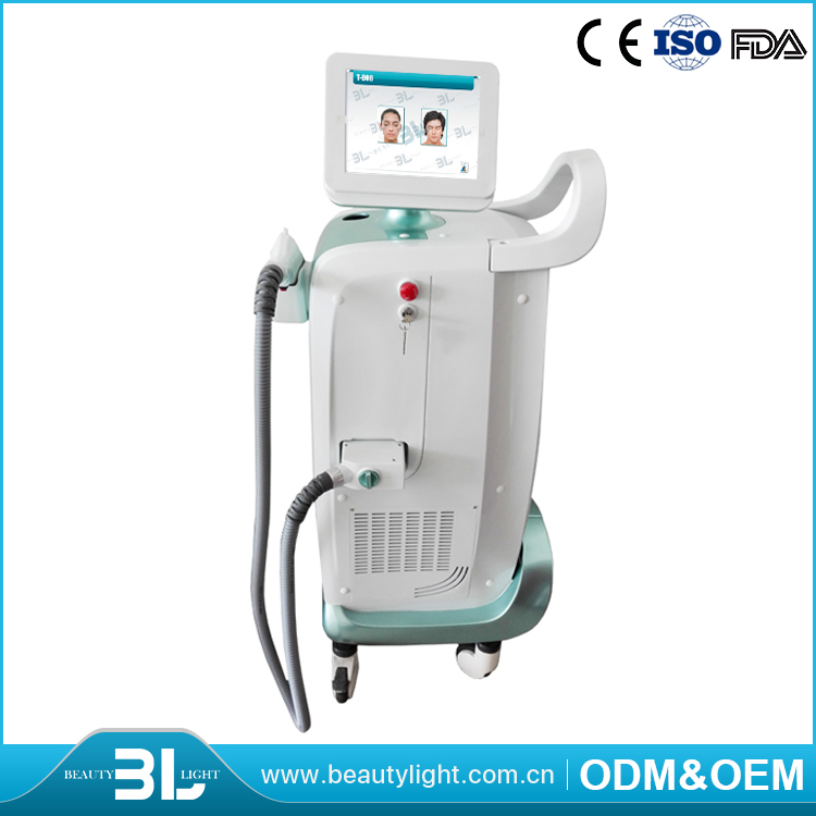 Top Quality High Efficiency Double Filtration System Integrated Plug 808 nm Diode Laser Hair Removal Equipment