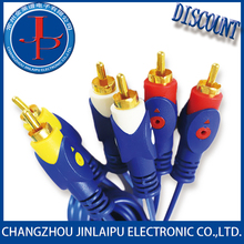 Factory price 2015 latest product high quality rca cable for car amp OEM