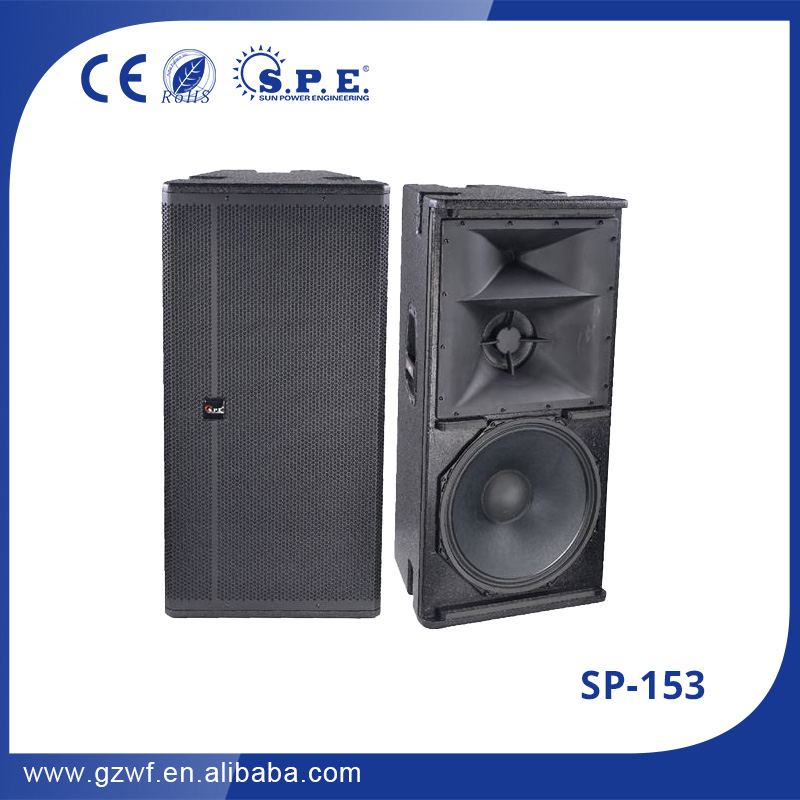 2017 3 way 15'' pa audio speaker dj bass price sound System Stage Speaker