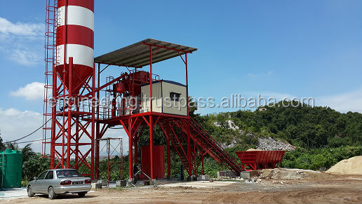 Planetary Mixer Concrete Batching Plant 60m3/h (Made in Malaysia)