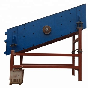 New dewatering sand vibrating screen for coal and ore separator