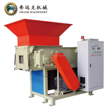 Strong Single Shaft Wood Pallet Shredder/plastic recycling shredding machine for waste