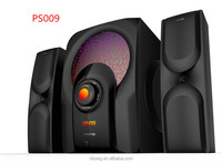 Max professional 2.1ch multimedia speaker system with mega bass speakers