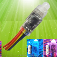 DC5V 0.3W 12mm IP66 rgb exposed led single light for back ground decoration