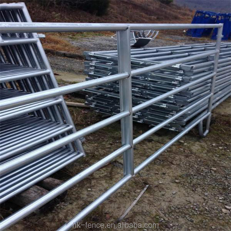 3/4/5/6 bars corral livestock fence panels for cattle sheep horse goat