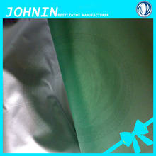 China factory price silver coating 190T polyester taffeta fabric weaving lining