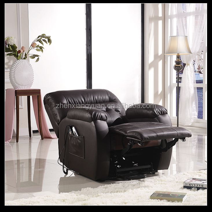 Power Lift Recliner with Reclining Mechanism Remote Control leather chair