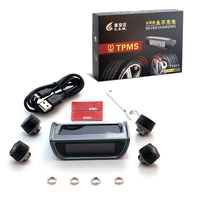 Wireless solar Tire Pressure Monitoring System with car tpms tpms tire pressure monitoring
