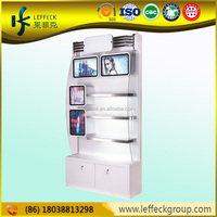 Modern retail produce display shelves displays for cosmetics