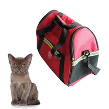 Wholesale Side Open Portable Dog Kennel Pet Carrier Dog Carry Bag Handbag