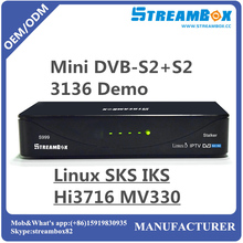Hi3716 ACM VCM IPTV Stalker Linux DVB-S2+S2 Mini Receptor antenna satellite digital hd