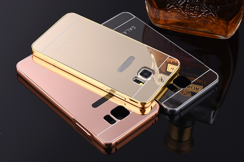 Smart Phone Hot New Products For 2015 Aluminum Mirror Metal Case Cover For Samsung Galaxy Grand Prime g530 g530h g5308w