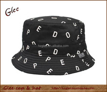 Wholesale Custom Cotton Twill Bucket Hat With printed logo