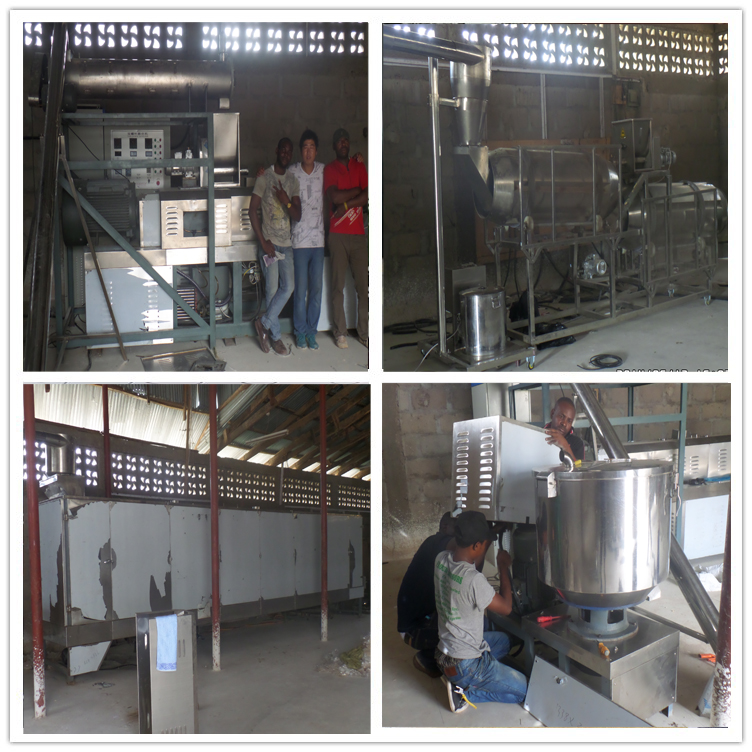 high quality auto floating fish feed food making extruder pellet processing machine cost price for sale shop price