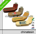 OEM Wooden USB Flash Drive 512MB-64GB USB Flash , Free Sample & Logo