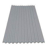 UPVC/PVC Colorful Flexible Long Lifetime Corrugated Sheet Roofing Tile