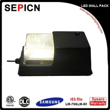 wall mount led wall pack dlc ul direct shipping from US warehouse