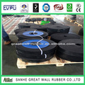Factory direct 1/4 inch ,1 inch thickness rubber skirt board rubber products 3-10mpa