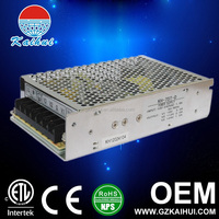 130W 12v 24v Double Output Closed Frame Switching Power Supply for LED Driver from China Supplier