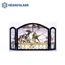 High Quality HEXAD Art Glass Windows by Stained Glass for home decoration