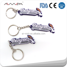 2D/3D special shape soft PVC rubber keychain with customer logo