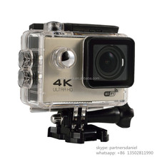 Hottest cheapest price mini sports camera outdoor extrem 4k cam 30fps 16MP waterproof action camera 4K MDV610