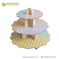Creative and popular and fashionable lotus leaf pallet dispaly for cake and other food