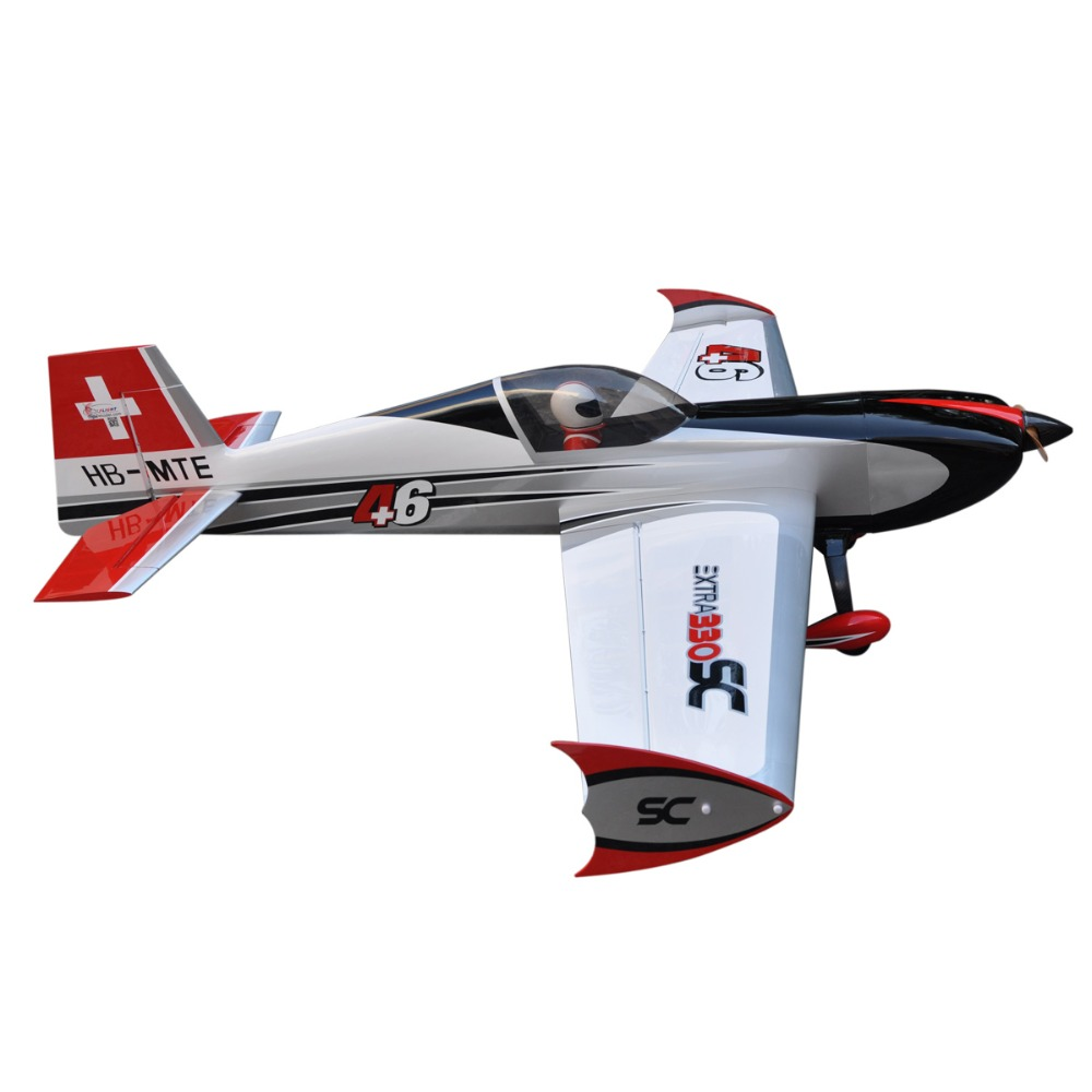 "Rc hobby airplane Extra330sc 93"" F151 balsa model airplane"
