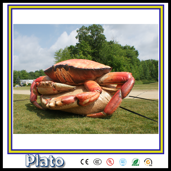 outdoor advertising / vivid advertising inflatable crab for sale