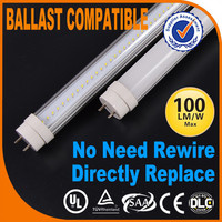 Led T8 No Remove Ballast And Starter,No Ballast And Starter Led Tube,Led Fluorescent Lights Without Ballast And Starter