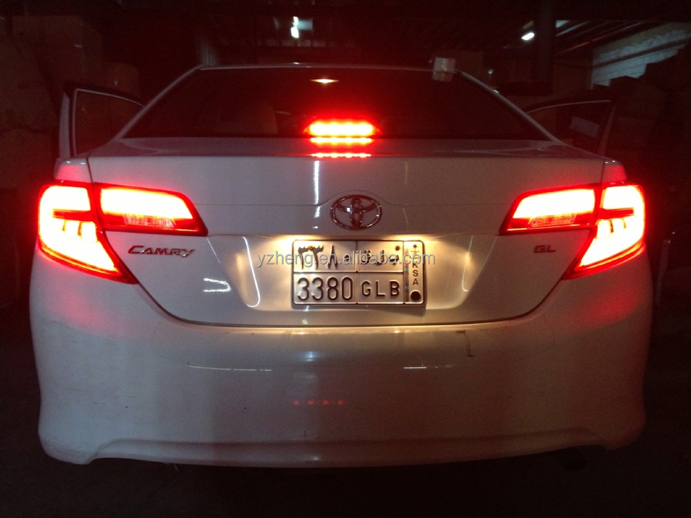 Vland Factory Outlet 2012 2014 Camry Led Modified Taillight Usa Style Rear Light Buy Wholesale