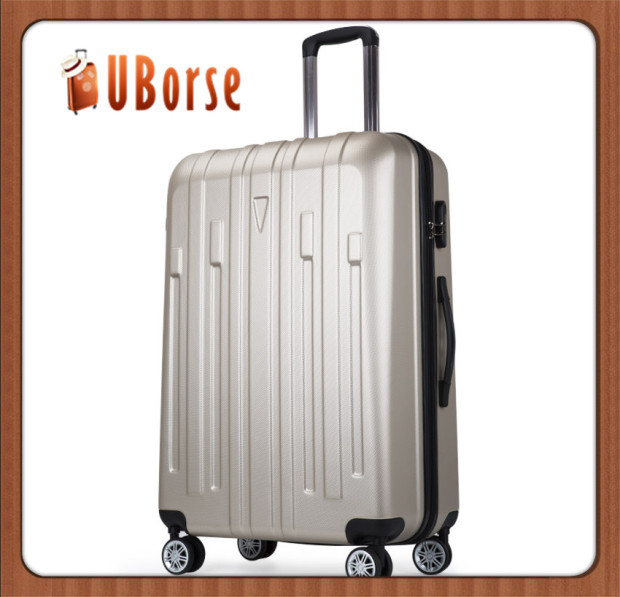 Uborse zipper 3 pcs set eminent trolley luggage