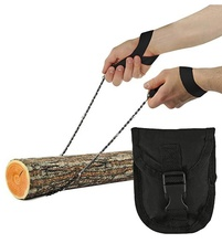 Clover Cheap 36inch Survival Chain <strong>Saw</strong> Hand <strong>Saw</strong> Folding Survival Pocket Chainsaw for Survival Gear/ Camping/Tree Cutting