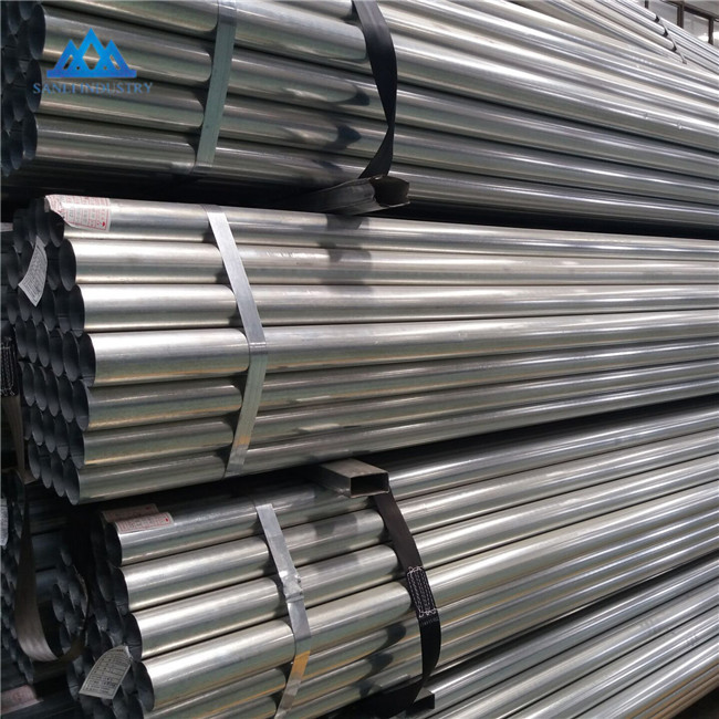 High quality galvanized steel pipe from global trading factory