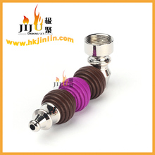 JL-123 Yiwu Jiju Novelty Decorative Metal Water Pipe Smoking