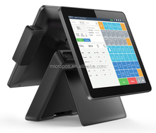 POS computer monitor 15 inch LED touch screen monitor wireless cash register with inventory pos