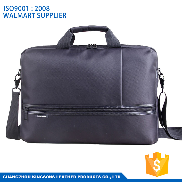 Large capacity business leather messenger bag for laptop
